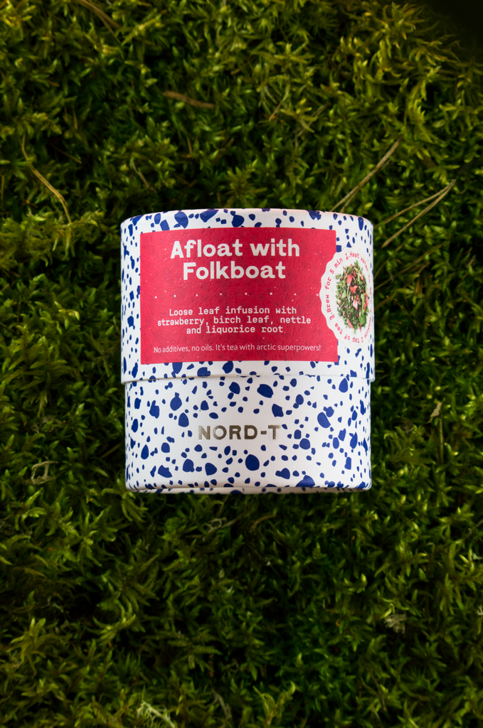 Afloat with folkboat 25 g