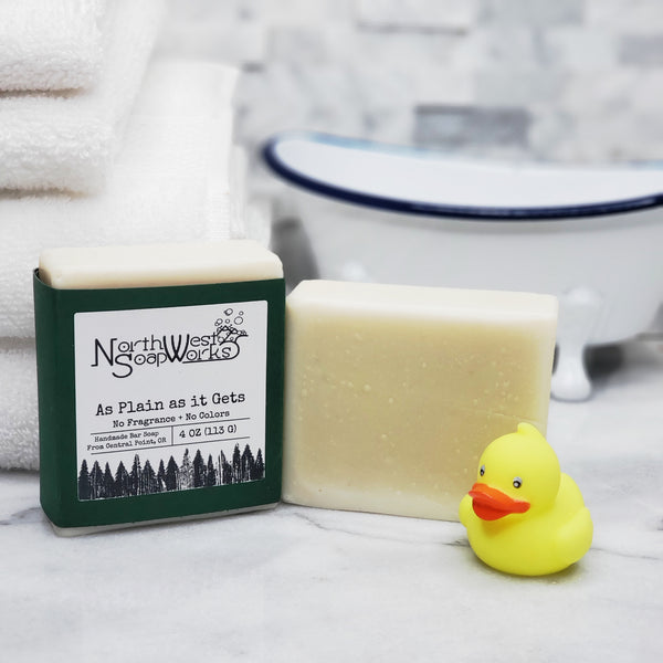 As Plain as it Gets signature soap