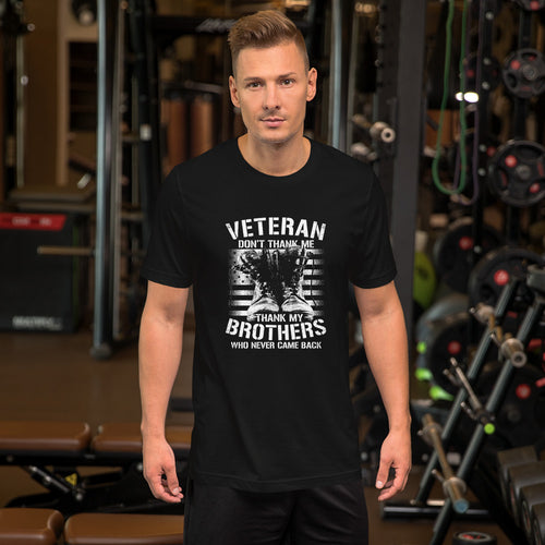 Thank My Veteran Brothers - American T Shirt - American Approved