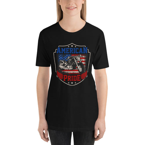American Pride Short-Sleeve Motorcycle T-Shirt - American Approved