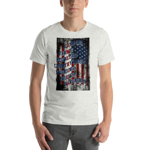 America Cat - Short-Sleeve T-Shirt - American Approved