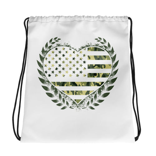 Love For America - Drawstring bag - American Approved