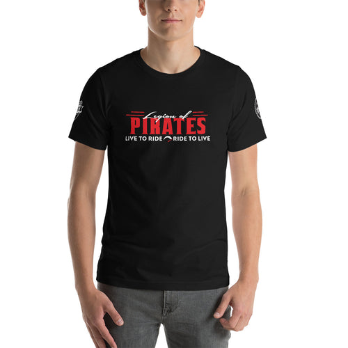 Legion of Pirates - Motorcycle Rider T-Shirt