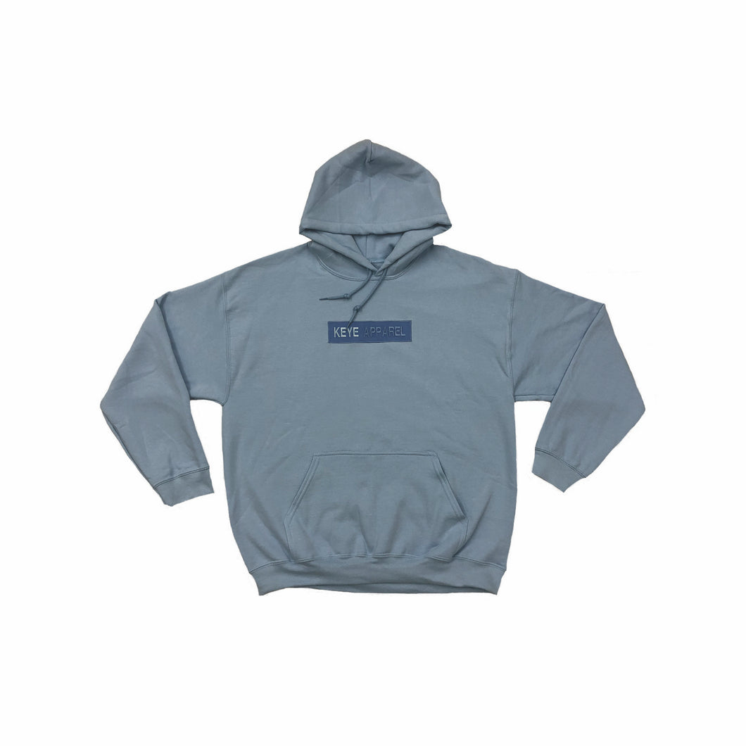 Box Logo Hoodie - Light Blue