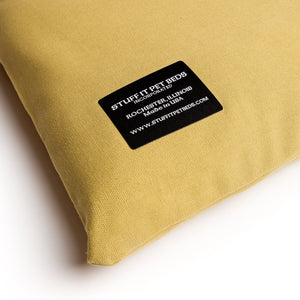 Pet Bed - Khaki Green