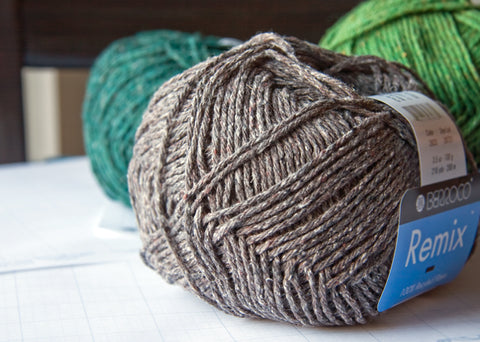 New yarn for the stash: Berroco Remix