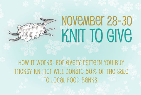 Give while you knit!