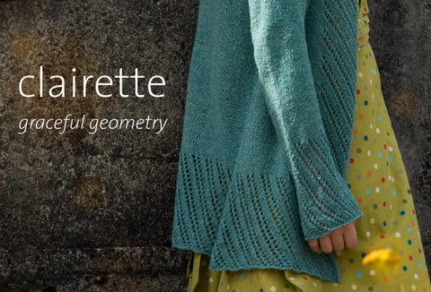 Clairette Cardigan is ready!