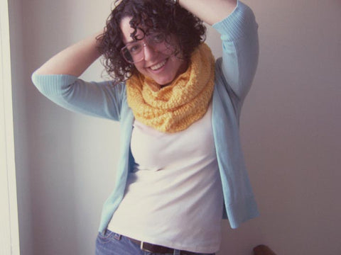 Hurrah! Free Cowl Knitting Pattern Spreads