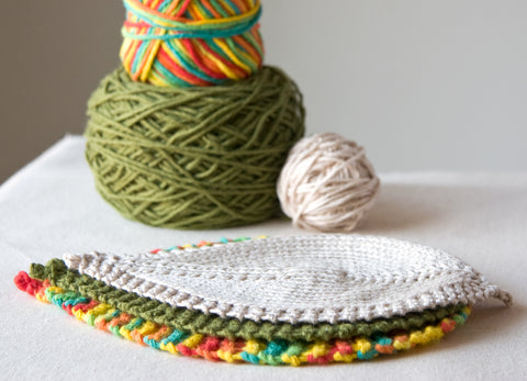 Free Leafy Washcloth Knitting Pattern Available to Download
