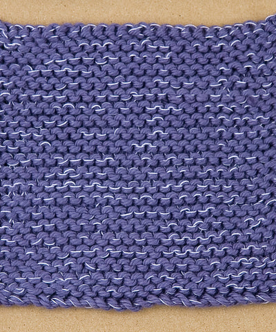 How to knit garter stitch in the round