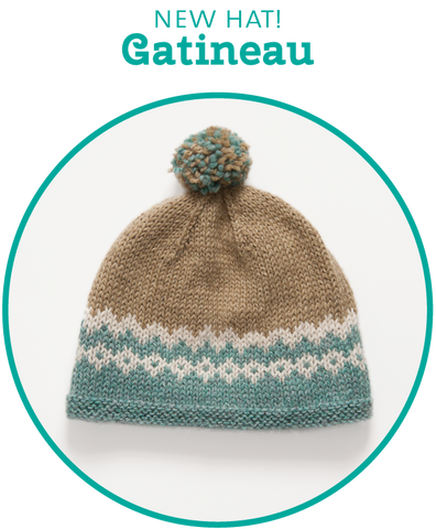New Gatineau Hat pattern is ready