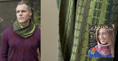New pattern in Interweave Knits Holiday Gifts 2012