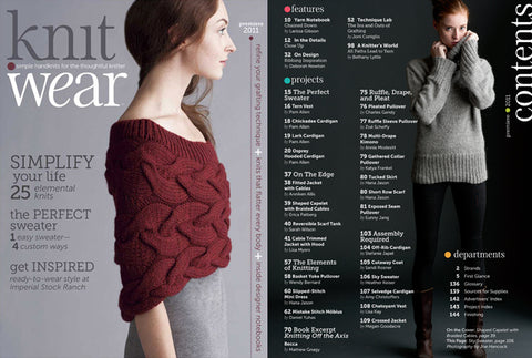 knit. wear from Interweave is almost here!