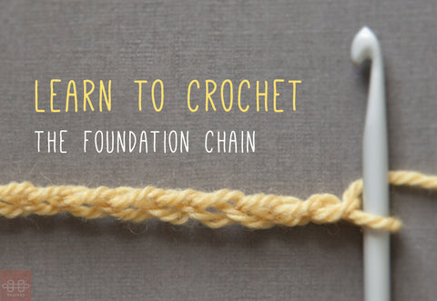 Learn to Crochet: Foundation Chain