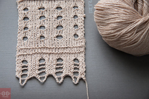 New pattern for Knit Pick's new Lindy Chain!
