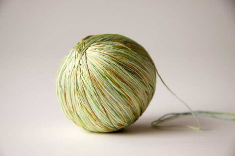 Knitting with silk