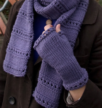 Montgomery fingerless mitts