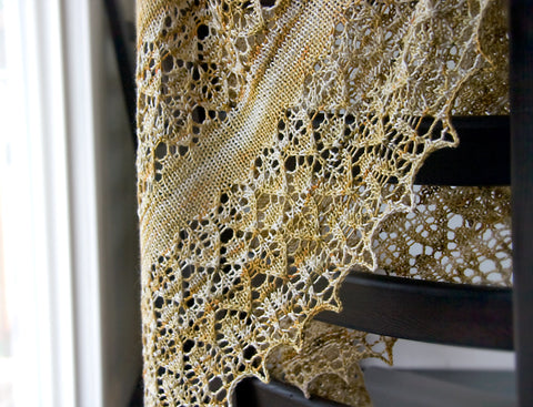 New Shawl Pattern and Kits coming soon