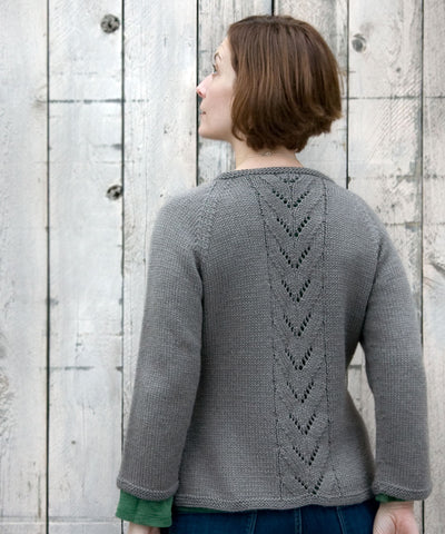 New Knitting Pattern! Seamless Raglan Cordova Cardigan