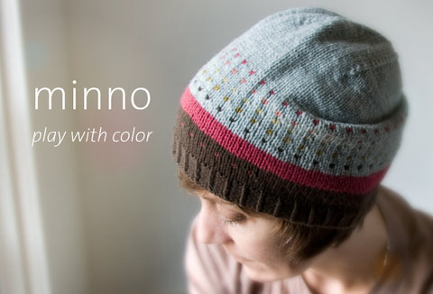 The stashbusting Minno Hat is ready!
