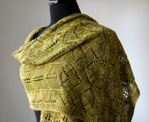 New Shawl Pattern Coming Soon