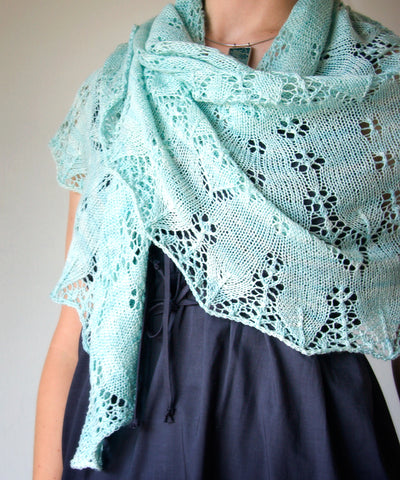 New Trifle Shawl pattern