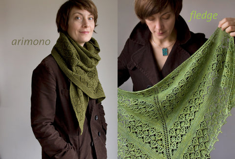 TWO New editions of shawl patterns today!