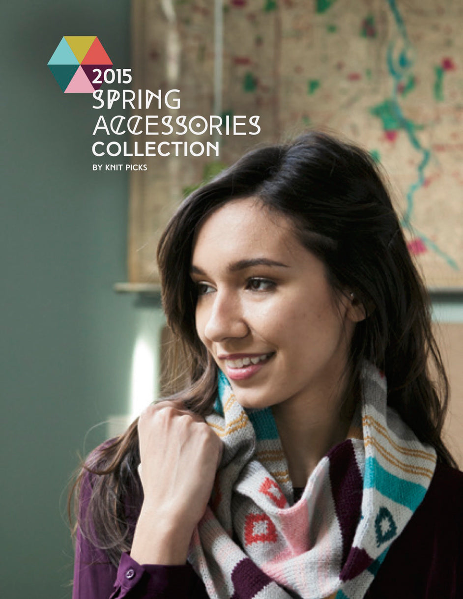 Knit Picks 2015 knitting pattern collection for Spring 26 patterns