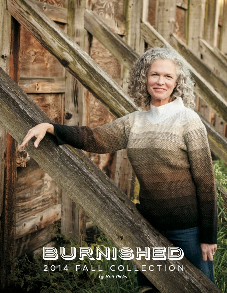 Burnished Knitting pattern collection for fall by Knit Picks