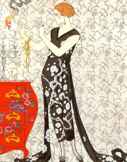 Barbier Evening Dress