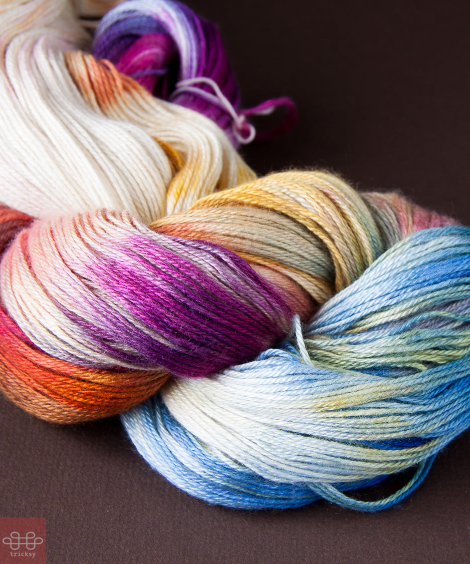 Tricksy Knitter Cashmere and Silk Knitting Kits