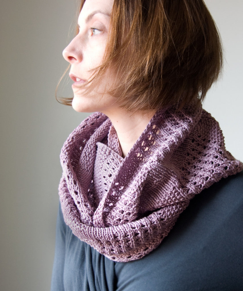 Free Knitting Pattern Canaletto Cowl By Megan Goodacre Tricksy