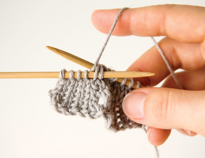 How to knit lace Idiot's Guide Knitting by Megan Goodacre