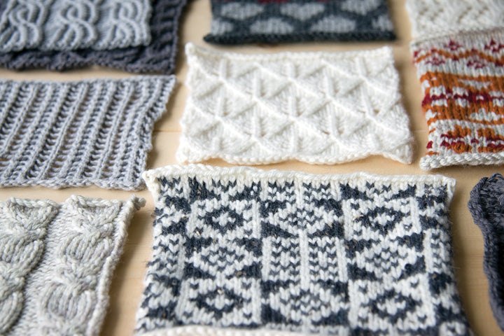 Knitting Stitch Patterns in Idiot's Guide Knitting by Megan Goodacre