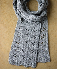 Idiot's Guide Knitting Branching Eyelet Scarf