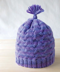 Idiot's Guide Knitting Cabled Hat