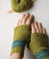 Idiot's Guide Knitting Fair Isle Mitts