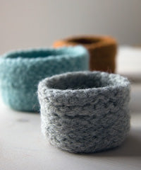 Idiot's Guide Knitting Felted Bowls
