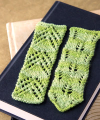 Idiot's Guide Knitting Lace Bookmarks
