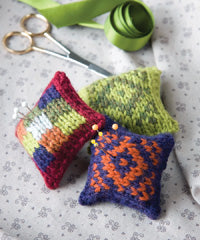 Idiot's Guide Knitting Mini Pincushions