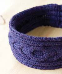 Idiot's Guide Knitting Cabled Headband