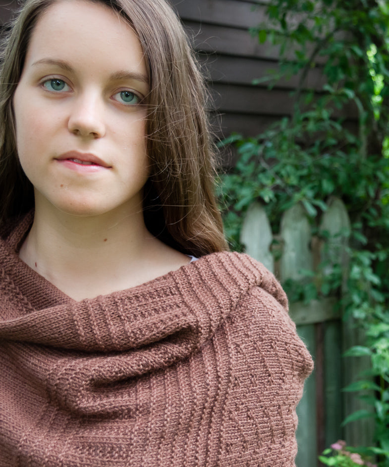 Tricksy Knitter Lexicon Wrap Knitting Pattern