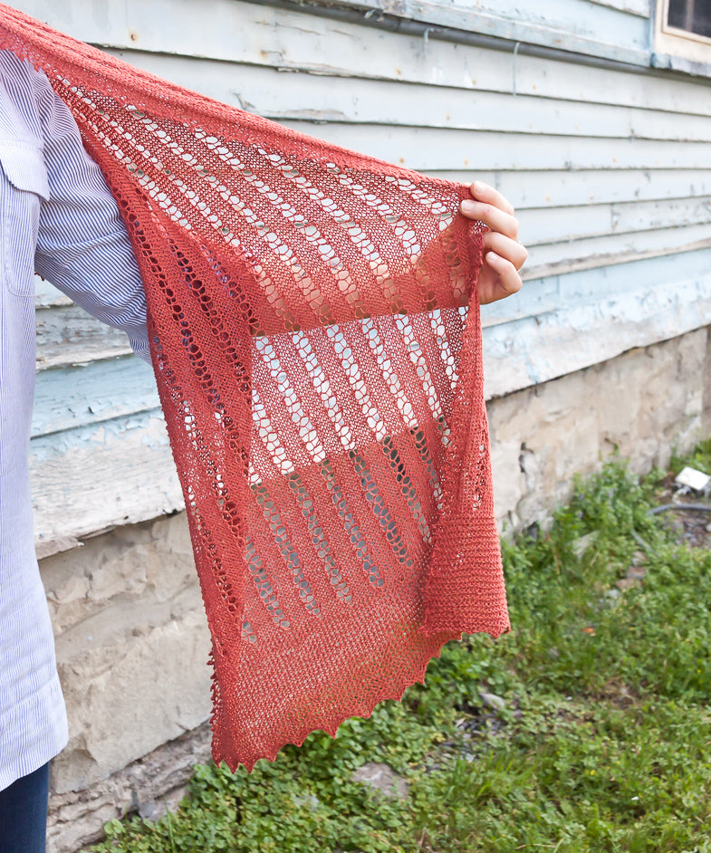 Tricksy Knitter Lace Wrap Knitting Pattern