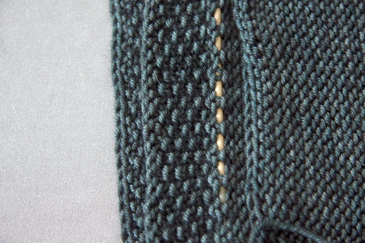 Knitting Pocket Linings