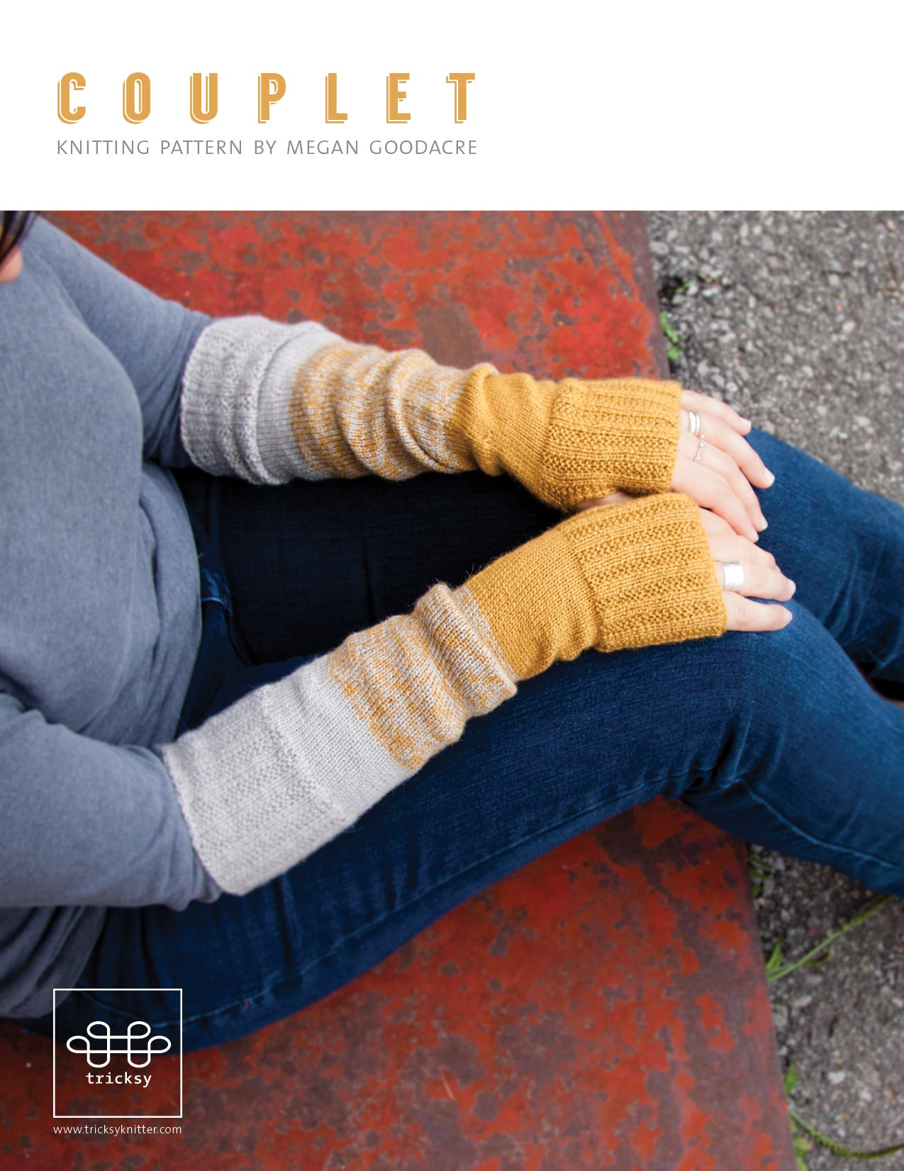 Couplet-Downloadable knitting pattern-Tricksy Knitter