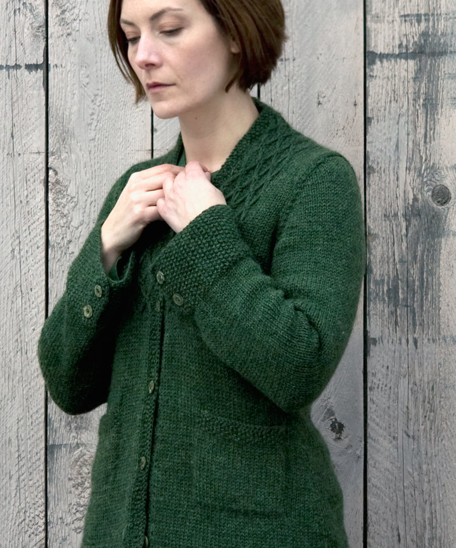 England Avenue Cardigan-Downloadable knitting pattern-Tricksy Knitter