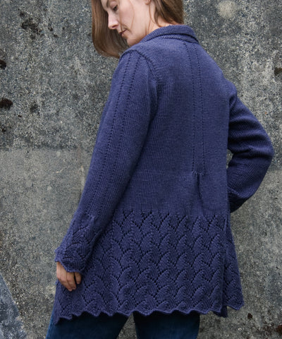 Fifth Street Jacket-Downloadable knitting pattern-Tricksy Knitter