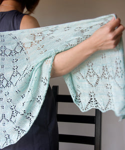 Trifle Shawl-Downloadable knitting pattern-Tricksy Knitter