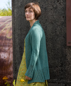 Clairette Cardigan-Downloadable knitting pattern-Tricksy Knitter